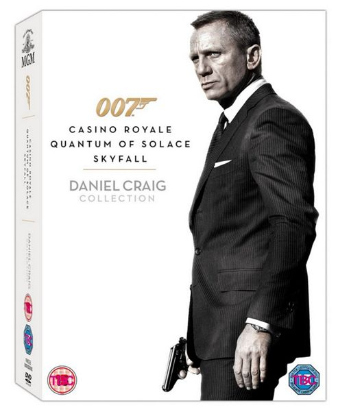 Daniel Craig Triple Boxset- DVD