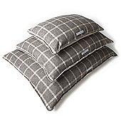 Slate Tweed Pillow Bed