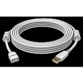 Vision USB 2.0 2m A White cable