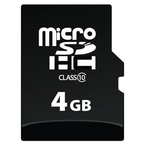 Verbatim microSDHC 4GB Class 10 Card