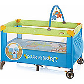 Jane Duo Level Travel Cot (Animal Dots)