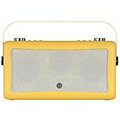 ViewQuest Hepburn MKII DAB/DAB+/FM Radio with Bluetooth (Mustard)