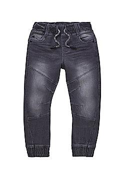 F&F Stretch Jogger Jeans - Grey