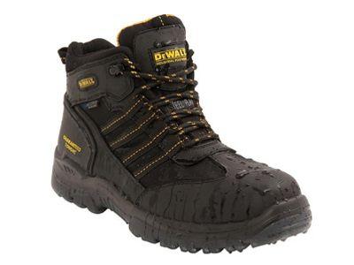 Dewalt Nickel Black Waterproof Boots Size 9