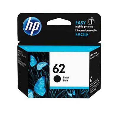HP 62 Original Black Ink Cartridge (C2P04AE)
