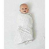 B Baby Bedding Swaddling Blanket - Grey