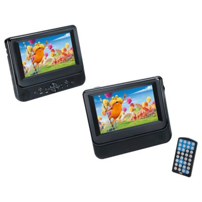 Tesco 7 inch Twin Portable DVD Player T77PDVD112