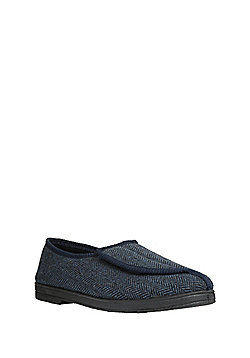 F&F Closed Back Slippers with Thinsulate™ - Navy