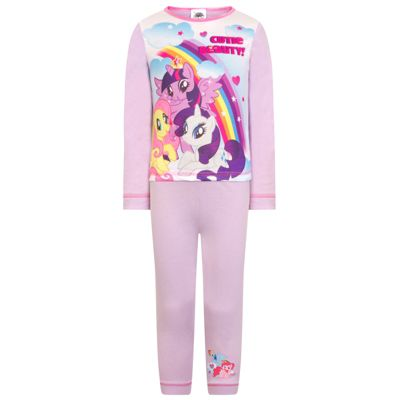 My Little Pony Baby Toddler Girls Pyjamas Purple 2-3 Years