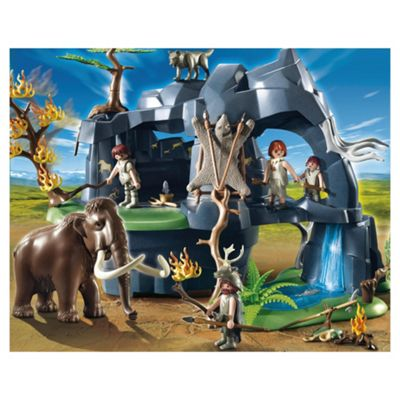 Playmobil 5100 Stone Age Cave with Mammoth