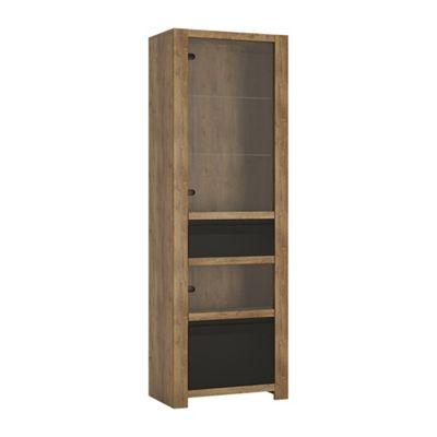 Havana 1 door 1 drawer display cabinet