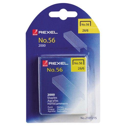 Rexel Staples, 26/6, 2000 Pack
