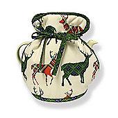 D&C Supplies New Stag Tartan D&C Design Muff Tea Cosy