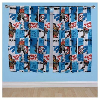 Star Wars Curtains W168x183cm (66x72