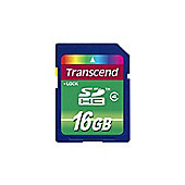 Transcend (16GB) Secure Digital High-Capacity Flash Card (Class 4)