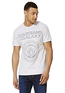 Marvel Guardians of the Galaxy Logo T-Shirt - Grey
