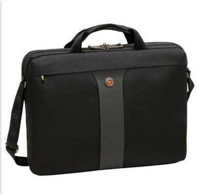 Wenger SwissGear Legacy Double Slimcase Computer Sleeves (Black/Grey) for 17 inch Notebooks