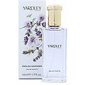 Yardley English Lavender Eau de Toilette (EDT) 50ml Spray For Women