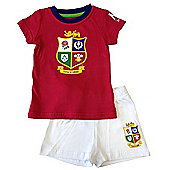 British & Irish Lions Rugby Baby Sleep Set - Red