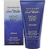 Davidoff Cool Water Women Night Dive Body Lotion 150ml