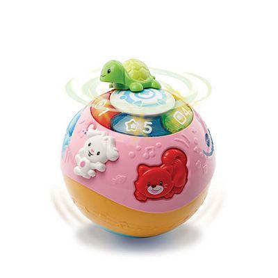 LeapFrog Crawl & Learn Bright Lights Ball Pink