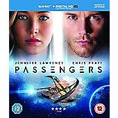 Passengers (2016) Blu-ray