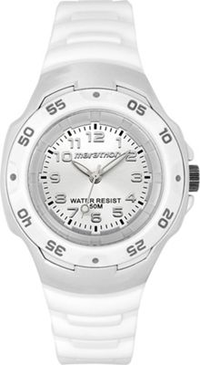 Timex White Jelly Marathon Watch