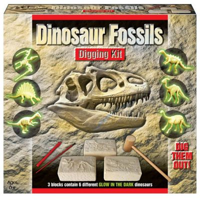 Dinosaur Fossil Digging Jurassic Excavation Kit