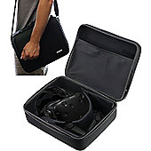 Navitech Black Heavy Duty Case / Cover With Shoulder Strap For The HTC Vive - VR Headset