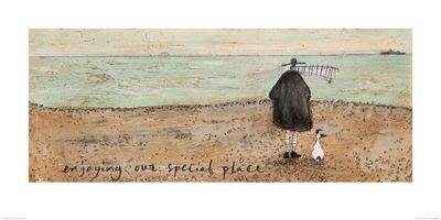 Sam Toft Enjoying our Special Place Print 50x100cm