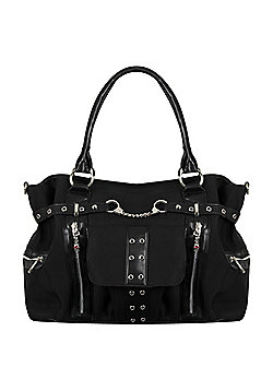 Banned Rise Up Handcuff Women's Handbag 39x26x14.5cm