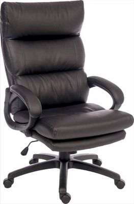 Teknik Luxe Executive Desk Armchair - Black