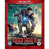 Iron Man 3 3D Blu-Ray / 2D Blu-Ray