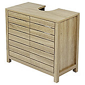 Lloyd Pascal Montreal Undersink Storage Cabinet, Oak Effect