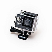 Sports Cam HD Action Camera 1080p with 2.0 Screen, Wi-Fi and Waterproof Case (30m) + 10 mountings and accessories