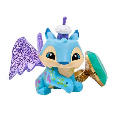 Animal Jam Lucky Lynx Figure with Light-up Ring