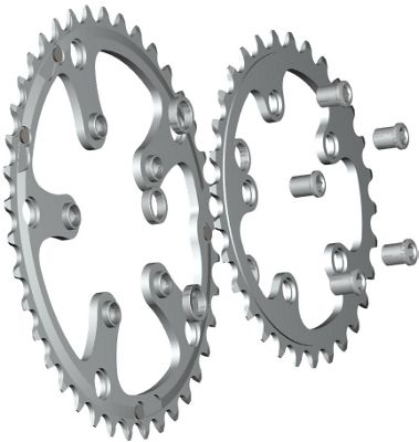 Stronglight 5-Arm/74mm Chainring: 24T