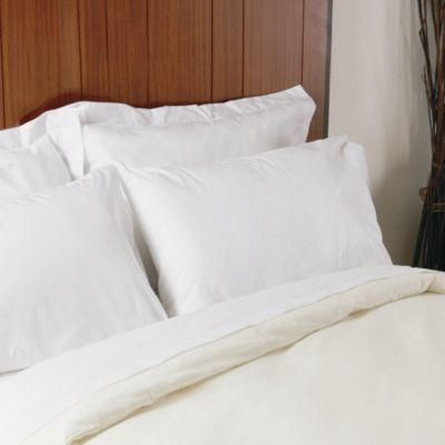Belledorm Plain Dyed 200 Thread Count Oxford Pillowcase (Set of 2) - White