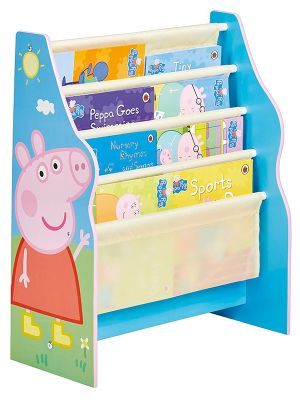 Peppa Pig Sling Bookcase Blue