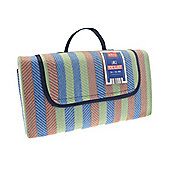 Country Club Picnic Blanket 130x150cm Stripes