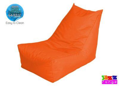 Happy Beds Bonkers Jazz Player Bean Bag Chair Orange
