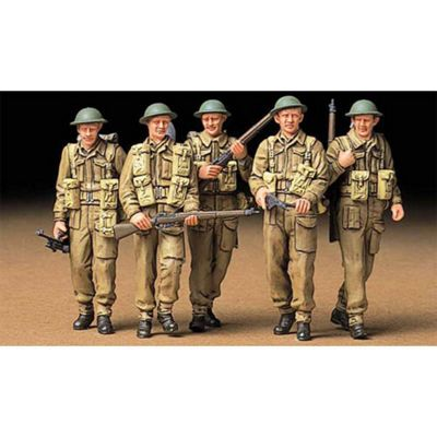 Tamiya 35223 British Infantry On Patrol 1:35 Military Model Kit