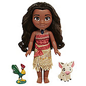 Disney Princess Singing Moana Doll And Friends
