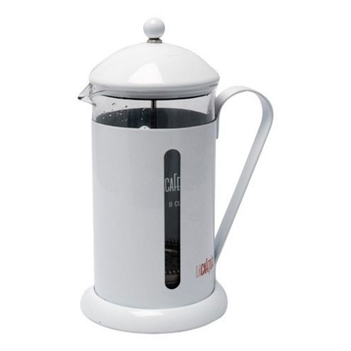 La Cafetiere Rainbow 8 Cup Cafetiere in White