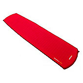 Vango Trek Standard Single Sleeping Mat with Repair Kit Red