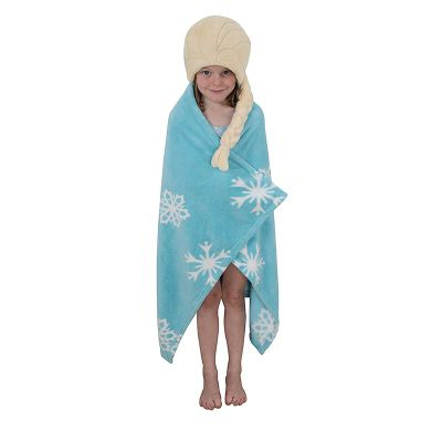 Frozen 'Elsa' 100% Polyester One Size Cuddle Robe