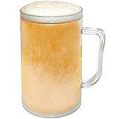 Dzine Ice Tankard Frosty Mug - Clear