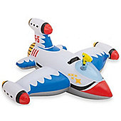 Children's Inflatable Water Gun Space Ship Ride On Toy