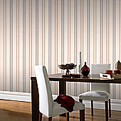 Superfresco Harvest Beige Stripe Wallpaper