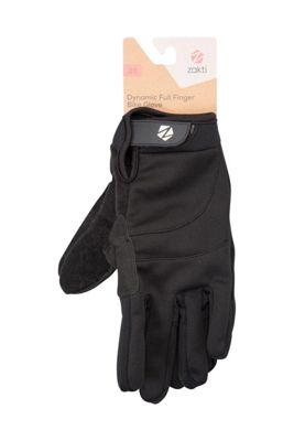 Zakti Dynamic Full Finger Bike Gloves ( Size: XL )